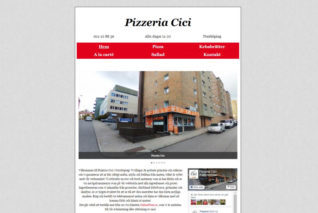 2016-07-19 08_38_30-Pizzeria Cici i Norrköping - Vi gör de godaste pizzor och rullar!